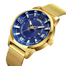 Discount Golden Fashion Watches For <b>Men</b>