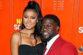 Kevin Hart's wife Eniko Parrish is ...