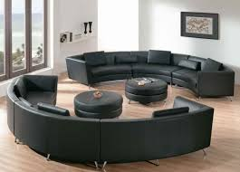 round sectional sofa bed. Comfortable Curved Sectional Sofas Elegant Living Room Pertaining To Round Sofa Bed Two Black Coffee Table Stainless Steel R