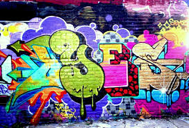 awesome brick wall graffiti for