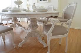 shabby chic dining sets shab white table room ideas elegant design