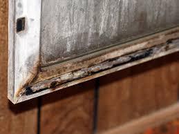5 shower door close up of sweep rail