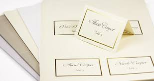 Template For Place Cards Free Wedding Place Cards With Guest Names Printed Or Blank