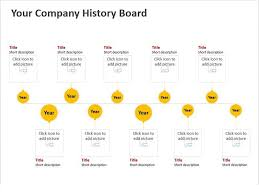 Timeline Powerpoint Slide Business History Timeline Powerpoint Template