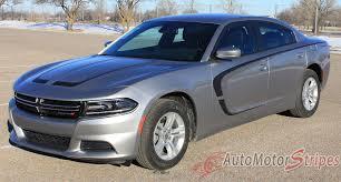 2015-2018 Dodge Charger Stripes C-Stripe Combo Hood Door Decals ...