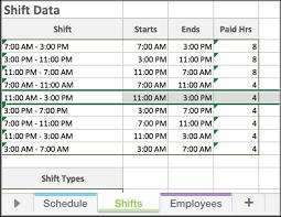 Work Scheduling Excel Template Best Of Employee Schedule