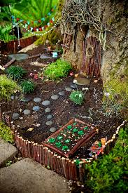have a rotted tree in your yard build a fairy door