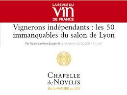 out of 545 exhibitors at the salon de lyon