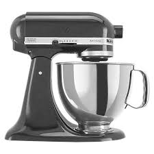 Buy KitchenAid 150 Artisan 4.8L Stand Mixer, Black Caviar Online At  Johnlewis.com ... John Lewis