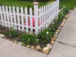 Corner Fence Landscaping Ideas