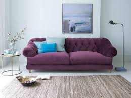 purple furniture. Bagsie Sofa In Our Grape Clever Velvet Purple Furniture