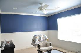 Two Tone Painting Ideas For Living Room With Regard To The House