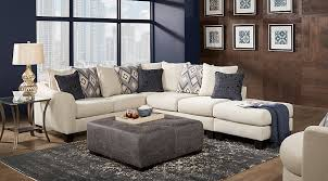 cream furniture living room. Contemporary Room Deca Drive Cream 4 Pc Sectional Living Room  Upholstered Rooms  Beige With Furniture A