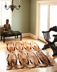 springbok rug galart international zebra rugs exotic skins hides leather custom furniture jean michel frank water fall table carl springer