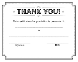 Certificate Of Appreciation Templates Free Download 21 Certificate Of Appreciation Templates Free Samples Examples