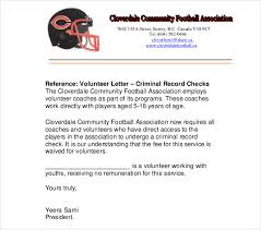 Reference Letter Job 13 Volunteer Reference Letter Templates Pdf Doc Free Premium