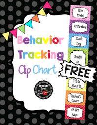 Behaviour Clip Chart Behavior Clip Chart Classroom Management Free Cute Polka Dots
