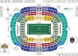 chart one direction ford field seating