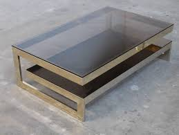 Jansen Coffee Table G Shaped 23 Carat Gold Plated Two Tier Coffee Table Maison Jansen