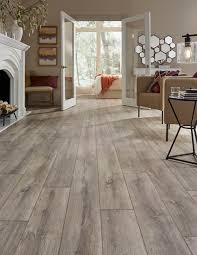 a european white oak look that evokes images of gently time worn flooring in french caus mannington s blacksmith oak laminate color anvil shown is