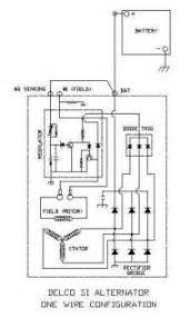 delco one wire alternator wiring diagram images delco one wire alternator diagram delco wiring diagram