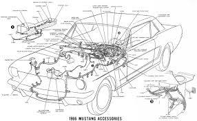 vintage mustang wiring diagrams 1966 mustang wiring harness diagram at 1965 Mustang Wiring Harness