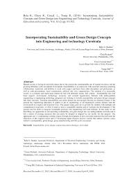 Advanced Design Concepts For Engineers Pdf Incorporating Sustainability And Green Design Concepts