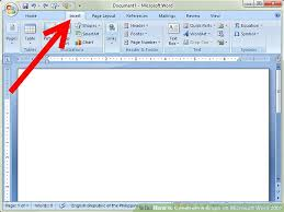 How To Construct A Graph On Microsoft Word 2007 7 Steps