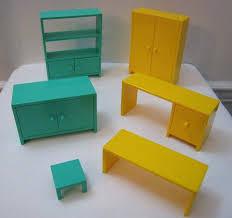 ikea doll furniture. Ikea Dollhouse Furniture Lot Of 6 Bookcase Wardrobe Desk Buffet Table Plastic . Doll