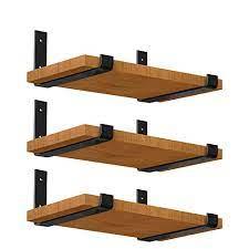 luckin 12 inch metal shelf brackets