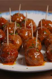 Slow-Cooker Mini Meatballs - Delish.com