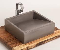 concrete vessel sink. Interesting Concrete Image 0 In Concrete Vessel Sink L