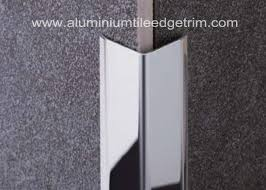 polished stainless steel tile trim angle trim stainless tile edge trim 20mm x 20mm x 2 44m