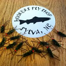 Southeast Hatch Chart And Fly Patterns Hookers Fly Shop