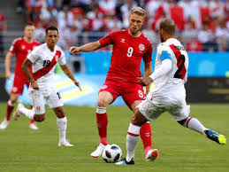 Image result for peru vs denmark 2018 world cup