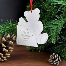 Our First Christmas Ornament  Amy Miller DesignsOur First Christmas Tree