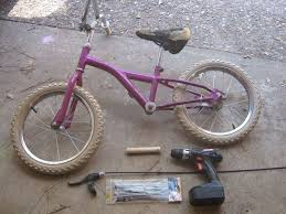 picture of 5 minute electric bicycle