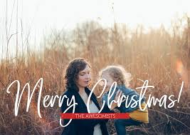 4 Free Christmas Card Photo Templates For Photoshop 2018