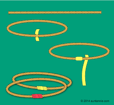 ilration for how to make rings for ring toss
