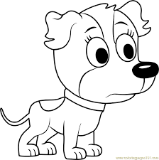 pound puppies zippster coloring page pound puppies zippster
