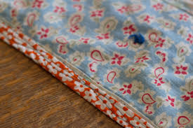 Fixes for Old Quilts: Rehab Your Quilting Finds | Sew Mama Sew & Find some bias binding tape that you like– homemade or store bought– in  whatever color or pattern makes you smile. Pin it to the side of your quilt  like you ... Adamdwight.com