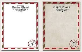 Free Printable Letter From Santa Claus Template