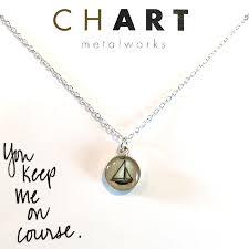 Necklace Chart Sailboat Chart Petite Necklace