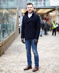 the pea coat makes a hardy but very smart winter coat it s warm and fends off the elements but it s also stylish and totally suitable to wear to a smart