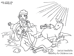 Small Picture Day 1 Acts 9 coloring sheet Extra activity for early finishers