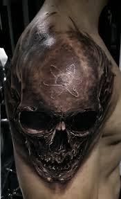 Skull Tattoo Tetování Tetování Tetování Lebky A Návrhy Tetování