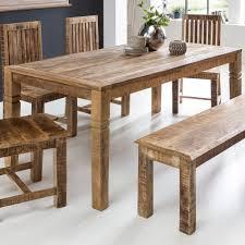 Esszimmertisch Holz Rustikal Esstisch Massiv Unsere