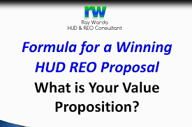 How To Submit A Hud Reo Proposal And Package