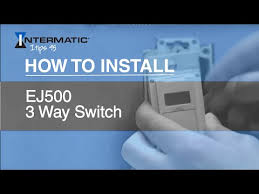 how to install ej500 3 way timer switch