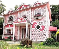 Hello Kitty house in real life